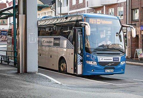 Nå settes Flybussen inn med full styrke på ruta til Gardermoen. Det blir 20 avganger hver dag fra 16. august.