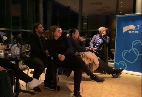 Høyres og Marianne Dobak Kvensjø mister ett mandat etter fintelling tirsdag kveld. Her fra valgvaken mandag.