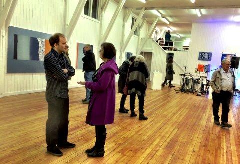 Jubileumsutstillingen med nesten alle de store kunstnerne gjennom 40 år, vises på Røgden bruk. Bildet er fra et tidligere år.