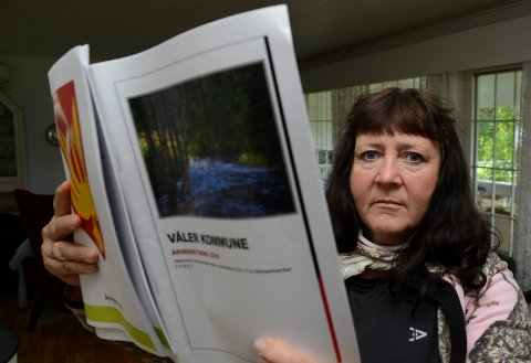 IKKE FORNØYD: Gunn Marit Lindmoen mener det nærmer seg en parodi når det gjelder behandlingen av en dispensasjonssøknad.