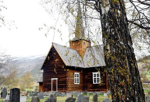 Skjåk kyrkje er ei lafta kyrkje får 1752.