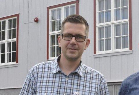 TO SKOLER: Lasse Juliussen blir til våren rektor for både Fredheim og Sanne. ARKIVFOTO