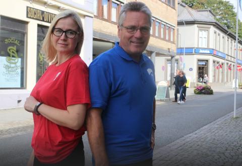 FORSKJELL: APs Linn Laupsa og Høyres Thor Edquist har forskjellig syn på hvem som bør drifte offentlige tjenester.