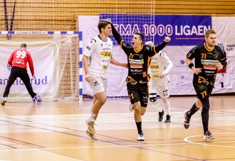 GOD: William Nilsen-Nygaard viste hvorfor Norges beste lag, Elverum, har signert ham for neste sesong.