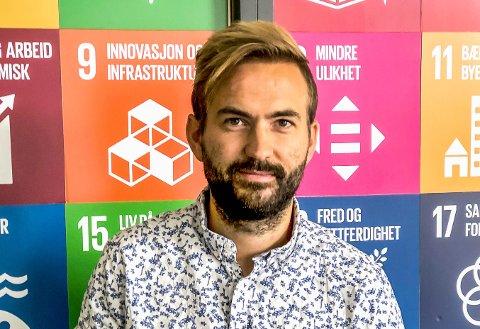 SAMARBEID: Frivilligkoordinator Tor-Håkon S. Nordenhaug: – Frivilligheten i Halden er stor og aktiv, og de gjør en fantastisk jobb. Jeg håper jeg kan bistå og legge til rette for et godt samarbeid.