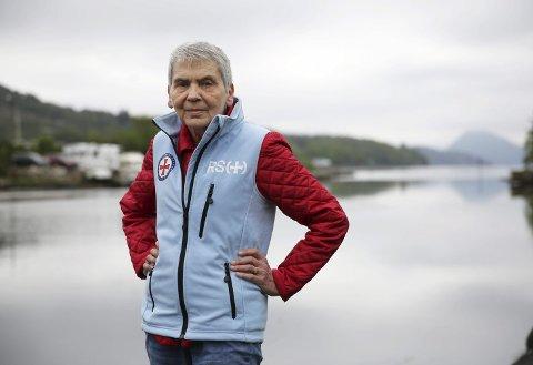 JUBILEUM: Over 400 tonn fiskekaker i året har Astrid Yrke laget. Nå inviterer foreningen hennes til basar. ARKIVFOTO: GRETHE NYGAARD