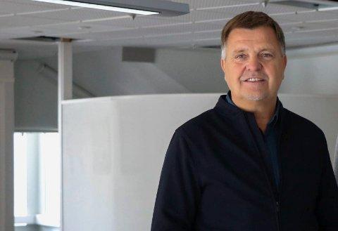 MYE FRUSTRASJON: Daglig leder i Berg Eiendom, Ole Ben Pedersen, sier det vil være en vanvittig kostnad å starte på nytt om konsekvensen av virusangrepet er at ting går tapt.