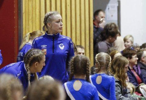LEDEREN: Anne-Marit Almås Marken leder 500 turnere og trenere i Mosjøen IL Turn.
