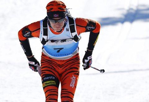 TOER: Petter Eliassen slo Martin Johnsrud Sundby i 2015, men måtte gi tapt i år. Foto: Heiko Junge / NTB scanpix
