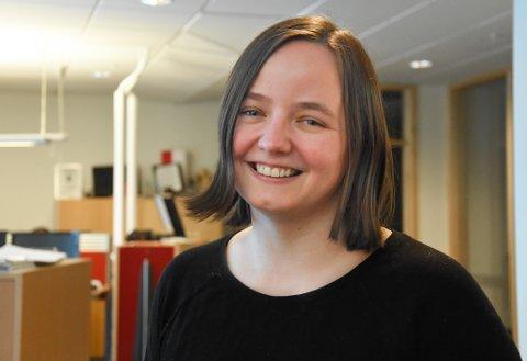 BLIR NYHETSREDAKTØR: Alexandra Kosowski blir konstituert  nyhetsredaktør for Finnmarken og Finnmark Dagblad.
