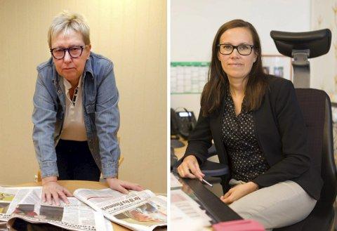 UENIGE: Wenche Pedersen mener tilliten til Kristina Hansen er svekket etter avtalen som ble inngått med Tromsø Ap. Det er ikke Marianne Sivertsen Næss enig i.
