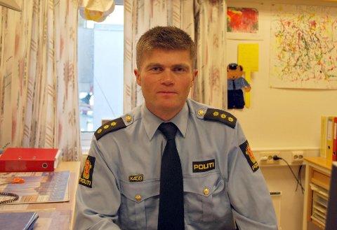 Øystein Mathiesen, 1. betjent ved Nordkapp Lensmannskontor, forteller at politiet tar trusler alvorlig.