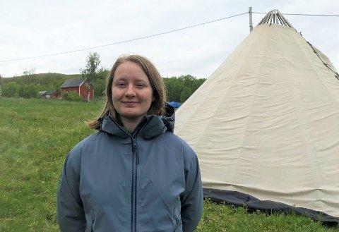 MOTSTAND: Therese Hugstmyr Woie er blant aktivistene som er klar for kamp i sommer.