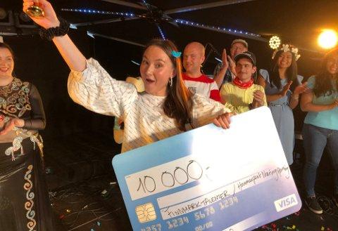 Emilie Løkke Salomonsen (23) vant Finnmark Talenter i fjor under Hammerfestdagan,