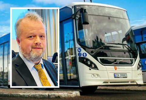 ADVARER: I løpet av de tre årene Trond Heide Henningsen har kjørt skolebussen, har han sett mye stygg kjøring.