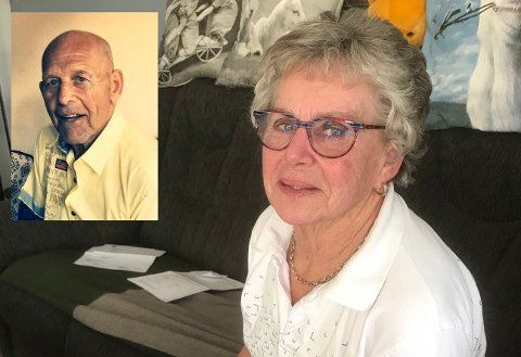 Irene Gustavsen mistet ektemannen John i 2016. Han ble 76 år gammel.