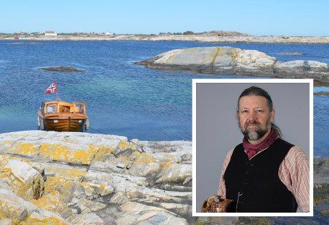 SJØEN: Liker man ikke mygg, burde man være ved sjøen i sommer, sier Petter Bøckman (innfelt).