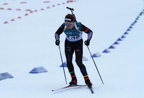 TILBAKE: Martin Femsteinevik var tilbake i toppen då han var med og kjempa om pallplassering i søndagens norgescuprenn på Lygna.