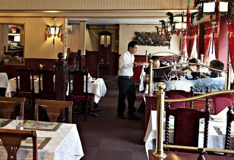 STREKMUNN: Kongs Kina på Nymoen fikk strekmunn etter at Mattilsynet kontrollerte restauranten i slutten av november.