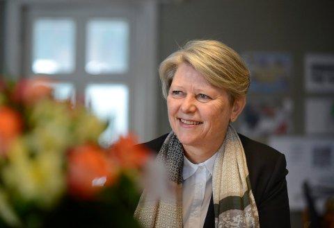 NYTT FIRMA: Kristin Franck i Sandsvær skal drive med konsulentbistand samt utleie av maskiner og utstyr.