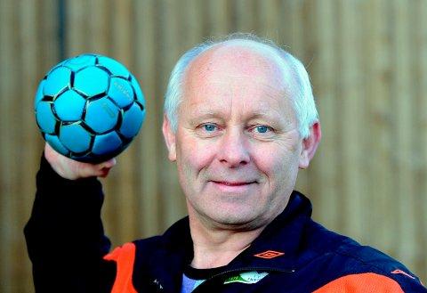 PRISVINNER: Jan Arild Eng har lagt ned mange timers innsats for IL Skrim med en forkjærlighet for håndballen.