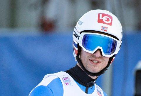 TREDJEPLASS: Daniel-André Tande og de norske hopperne nådde ikke helt opp under lørdagens laghopp-konkurranse i Zakopane - og endte på en tredjeplass.