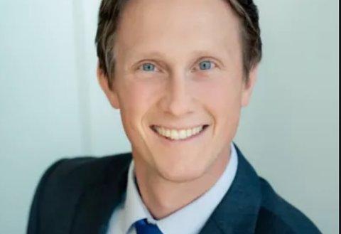 NYANSATT: Martin Hartmann Aasness flytter fra Oslo til Kongsberg for å bli kommuneplanlegger.