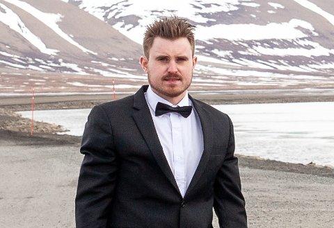 NYANSATT: Kent Roar Nybø (31) er ansatt som ny ansvarlig redaktør og daglig leder i Lofot-Tidene.