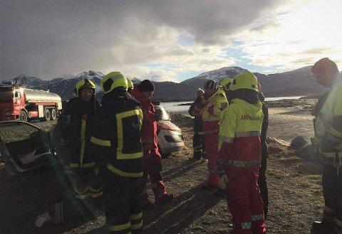 Verneombud Dag Walle er bekymret er den psykiske belastning som hviler på de få brannmennene som er disponible på Ramberg.