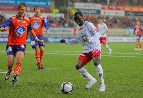 SPILTE I NORGE: Dominic Adiyiah ble hentet til Fredrikstad i ung alder.