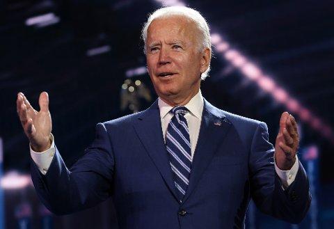 – Når Donald Trump tenker på klimaendringene, er «bløff» det eneste ordet han kommer på. Når jeg tenker på klimaendringene, er ordet jeg tenker på «arbeidsplasser», sa Joe Biden i en tale i juli.