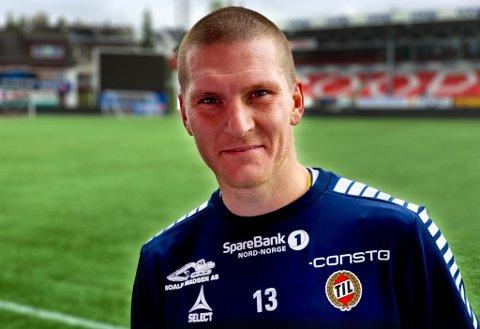 COMEBACK KID: Zdenek Ondrasek er klar for å spille sin første TIL-kamp siden 2015 når de skal ut mot Rosenborg på Lerkendal søndag kveld. I bakgrunnen til venstre skimtes en stolpe tsjekkeren husker godt.