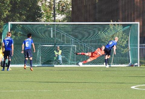 Ole Kristian Lauvli forsøkte, men klarte ikke å redde straffen.