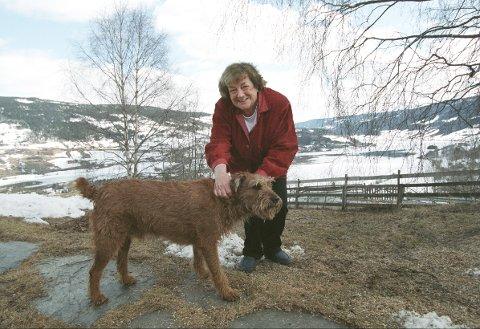 VALDRES: Margit Sandemo, her avbildet på Fagernes  i 1994 if orbindelse med 70-årsdagen, var en av landets mest leste forfatter.