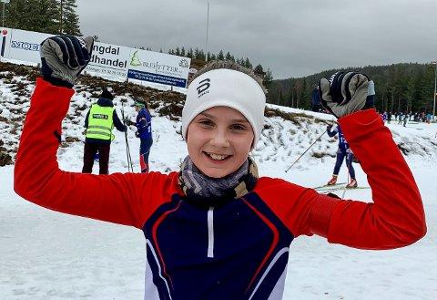 Andrea Alfstadsæther fra ØTS ble østlandsmester i skiskyting.
