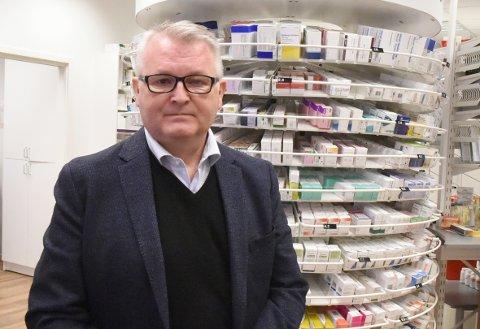FARMA NORGE: Kjetil Berg fra Gjøvik er daglig leder i  en paraplyorganisasjon for legemiddelbransjen som ble etablert i kjølevannet av pandemien.