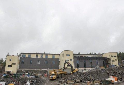 Romslig: Bygget blir på 10.500 kvadratmeter, og 6.500 av disse blir spa.