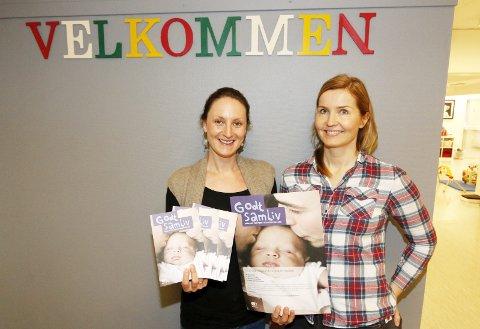 HOLDER KURSET: Susanna Borovski Lübeck (til venstre) og Inger Nordstrand håper om god oppslutning om kurset i Ås kulturhus. FOTO: STIG PERSSON