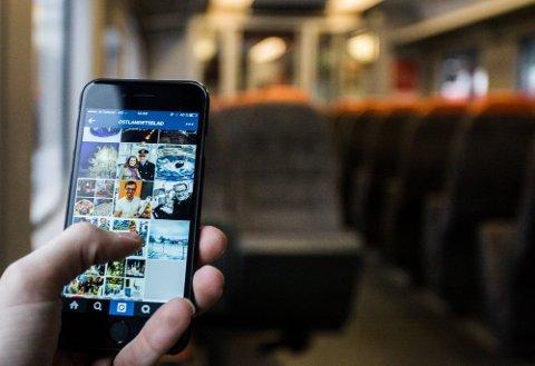 KNALL: Innen året er omme skal dekningen være like bra langs hele Østfoldbanen, som den i dag er når togene står stille på Ski stasjon. Illustrasjonsfoto: Eirik Løkkemoen Bjerklund