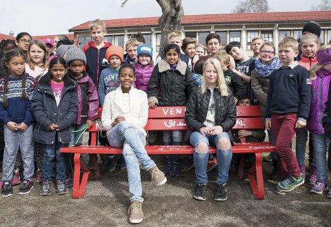 Vis-prosjekter: Elevene på Hedrum skole har deltatt på en rekke VIS-relaterte prosjekter gjennom året.