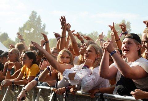 FULL FEST: Stavernfestivalen 2018 var tidenes mest besøkte, med et publikumstall på nærmere 60.000.