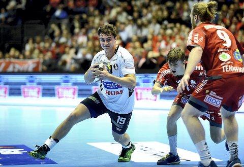 MØTER HASLUM: Håkon Bratvold Ekren og Elverum tapte cupfinalen mot Haslum i desember. Nå får de muligheten til revansje, i cupens kvartfinale.