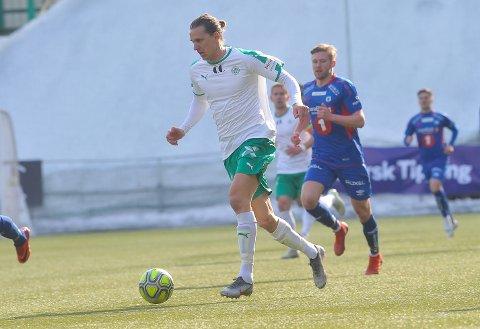 HJEMMEDEBUT: Jonas Enkerud starten i 2-1-seieren over Tromsdalen søndag. Det var 28-åringens debut på Briskeby som HamKam-spiller.