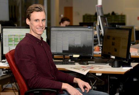 NYHETSREDAKTØR: Magnus Torp Antonsen er ny nyhetredaktør i Østlendingen.
