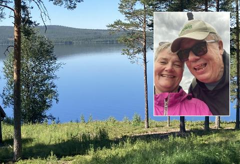 IDYLL I OSEN: Anne Mette Haulan Johansen har feriert på Osen hver sommer siden 1966. Den gangen hun traff sin mann,  Ole Petter Johansen, sa hun at om han ikke likte seg der så kunne det ikke bli dem to, men lykken var stor da han likte seg veldig godt.