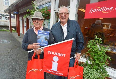 Fredag klokka 10.00 åpner Langesund Turistservice kontoret i Langesund for sommeren. 100 frivillige holder det åpent fra 10.00 til 17.00 hele uka.