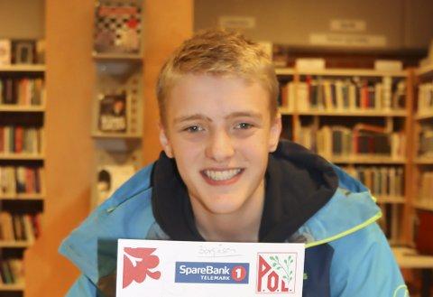 LØPSLEDER: Martin Ausen er løpsleder for jubileumsløpet i Borgeåsen onsdag.