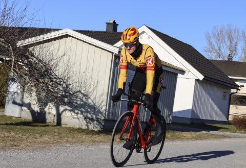 Syver Westgaard Wærsted kan glede seg over svært gode treningsforhold på landeveien.