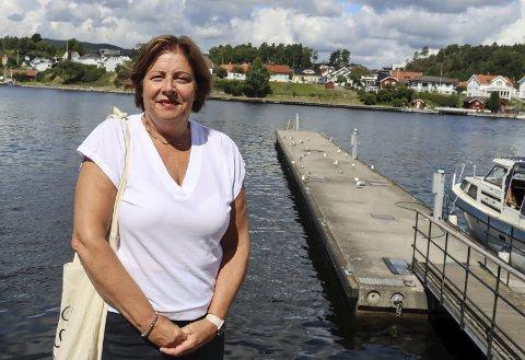 VIL BEVILGE PENGER: Anne Karin Alseth Hansen (H) mener politikerne i Porsgrunn må bli enige om å prioritere oppgradering av gjestebrygge.