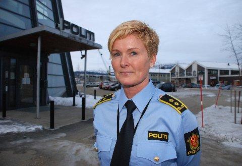 VARETEKT: Politiadvokat Sølvi Elvedahl opplyser at politiet har bedt om varetektsfengsling av ranamannen på grunn av gjentakelsesfare.